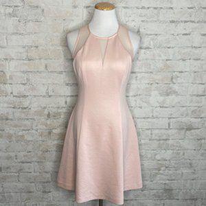 Guess   Light Blush Pink Flare Dress